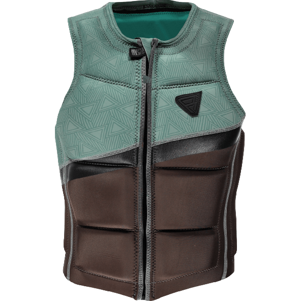 Brunotti Indian Wake Impact vest Black/Granite Green