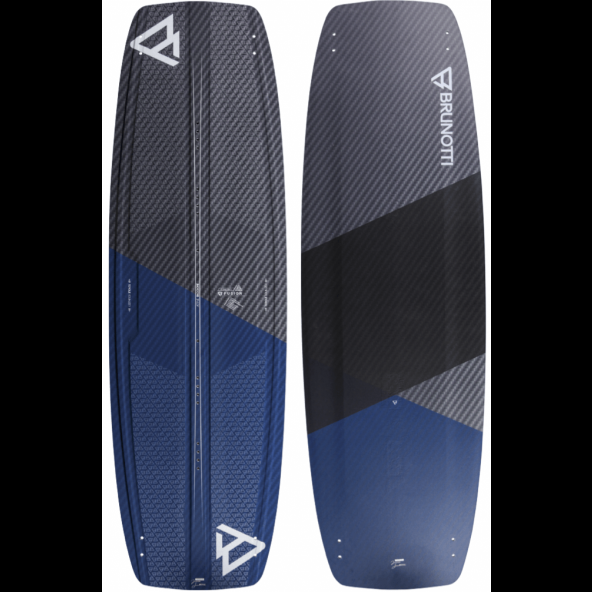 Brunotti Fusion Full Carbon High Performance Freeride Twintip Kiteboard