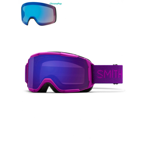 Smith 4D MAG Goggles Lilla - Inkl Ekstra Linse