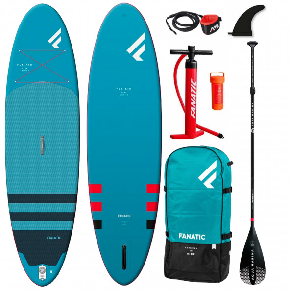 Fanatic Fly 10'4 Oppustelig Allround SUP - Komplet Pakke